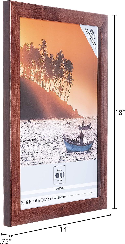 Darice Wood Frame Espresso Size to Hold 12x16-Inch Photo