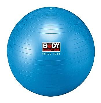 Body Sculpture - Balón de Gimnasia, Color Azul Azul Azul Talla:65 ...