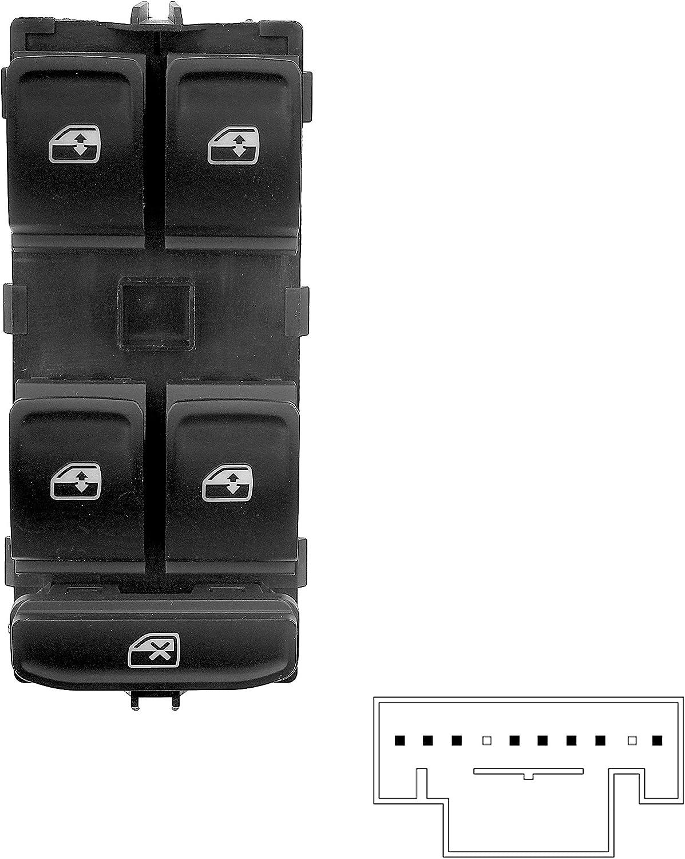 Fensterheber Schalter 8pins 5G0959857B 5G0959857D
