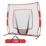VIVOHOME 7 x 7 Feet Baseball Backstop Softball