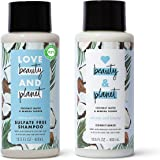 Love Beauty and Planet Volume and Bounty Thickening Shampoo and Conditioner For Hair Volume and Fine Hair Care Coconut…