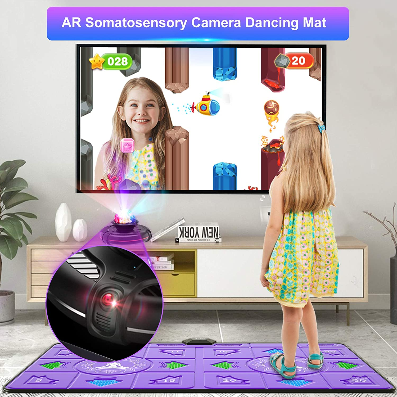 LEO WAY Dance Mat,Dance Pad Somatosensory Game Machine Fitness ...