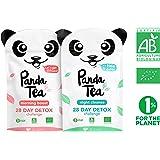 Panda Tea detox tea / thé détox biologique - challenge 28 jours (56 sachets) …