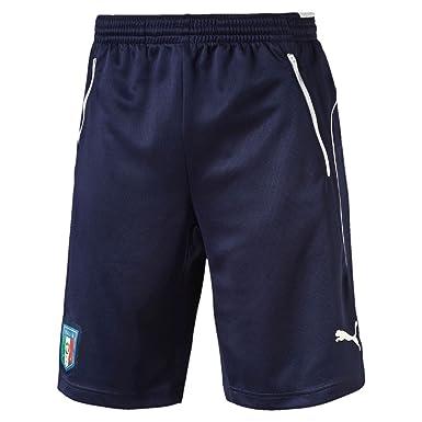 c5762622bf Puma Men's Figc Italia Coach Training Shorts, Peacoat White, Small