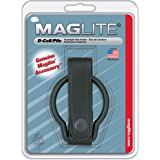 Maglite Plain Leather Belt Holder for D Cell Flashlights, Black