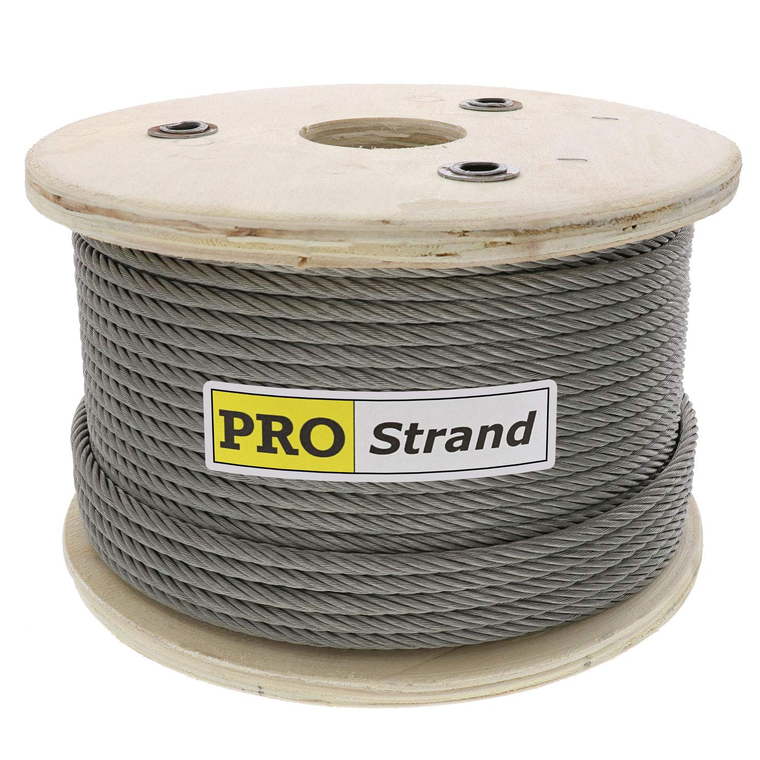 Pro Strand 1/16'' X 1000', 7x7, Hot Dip Galvanized Cable Reel