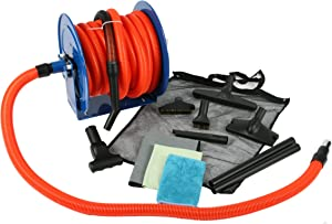 Cen-Tec Systems 99680 50-Feet Premium Garage Vacuum Kit with Hose Reel