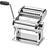 Nuvantee/Innovee Pasta Maker - Highest Quality Pasta Machine - 150 Roller With Pasta Cutter - 7 Adjustable Thickness Settings - Make Perfect Spaghetti or Fettuccini - Heat-Treated Gears for Long Life