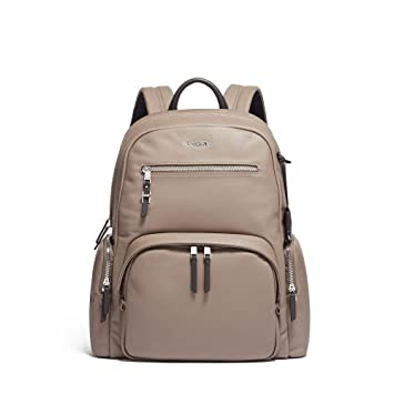 Amazon.com  TUMI - Voyageur Carson Leather Laptop Backpack - 15 Inch  Computer Bag for Women - Gobi  iServe dc98fd6bb6ff7