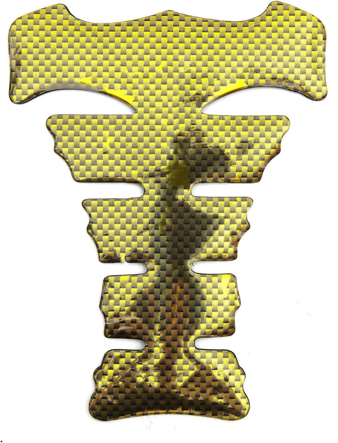 Metallic Gold Adhesive Fuel Tank Protector Pad