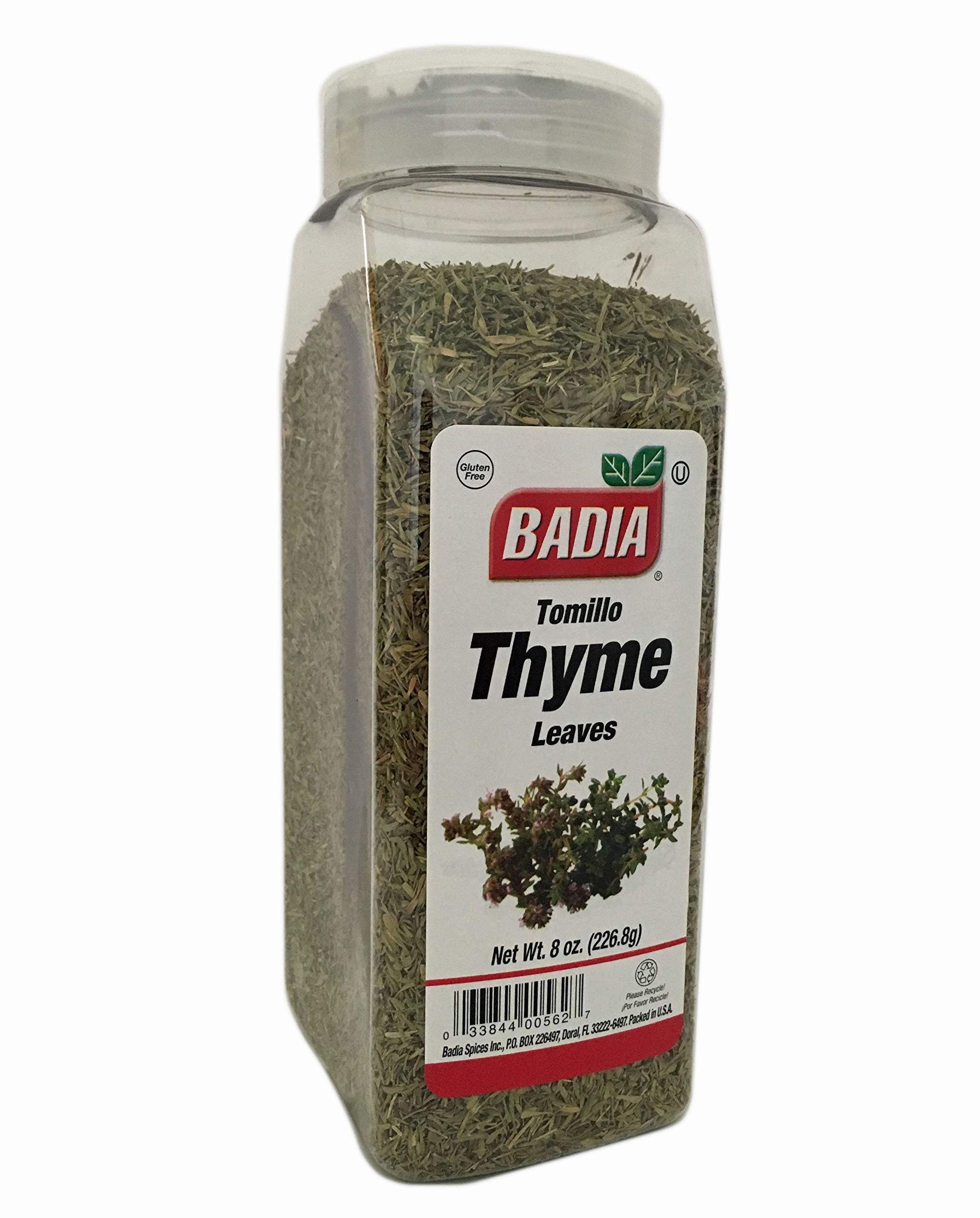 8 oz Whole Thyme Leaves/Tomillo Entero Gluten Free Kosher