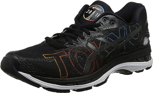 Asics Gel-Nimbus 20 Tokyo Marathon, Zapatillas de Running para Mujer, Negro, 36 EU: Amazon.es: Zapatos y complementos