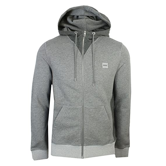 89bb3c3d2 Hugo Boss Mens Grey zeroes Sweatshirt L: Amazon.co.uk: Clothing