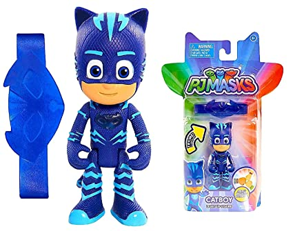 Pj Masks Catboy Light Up Figure with Amulet Bracelet New Cartoon Release