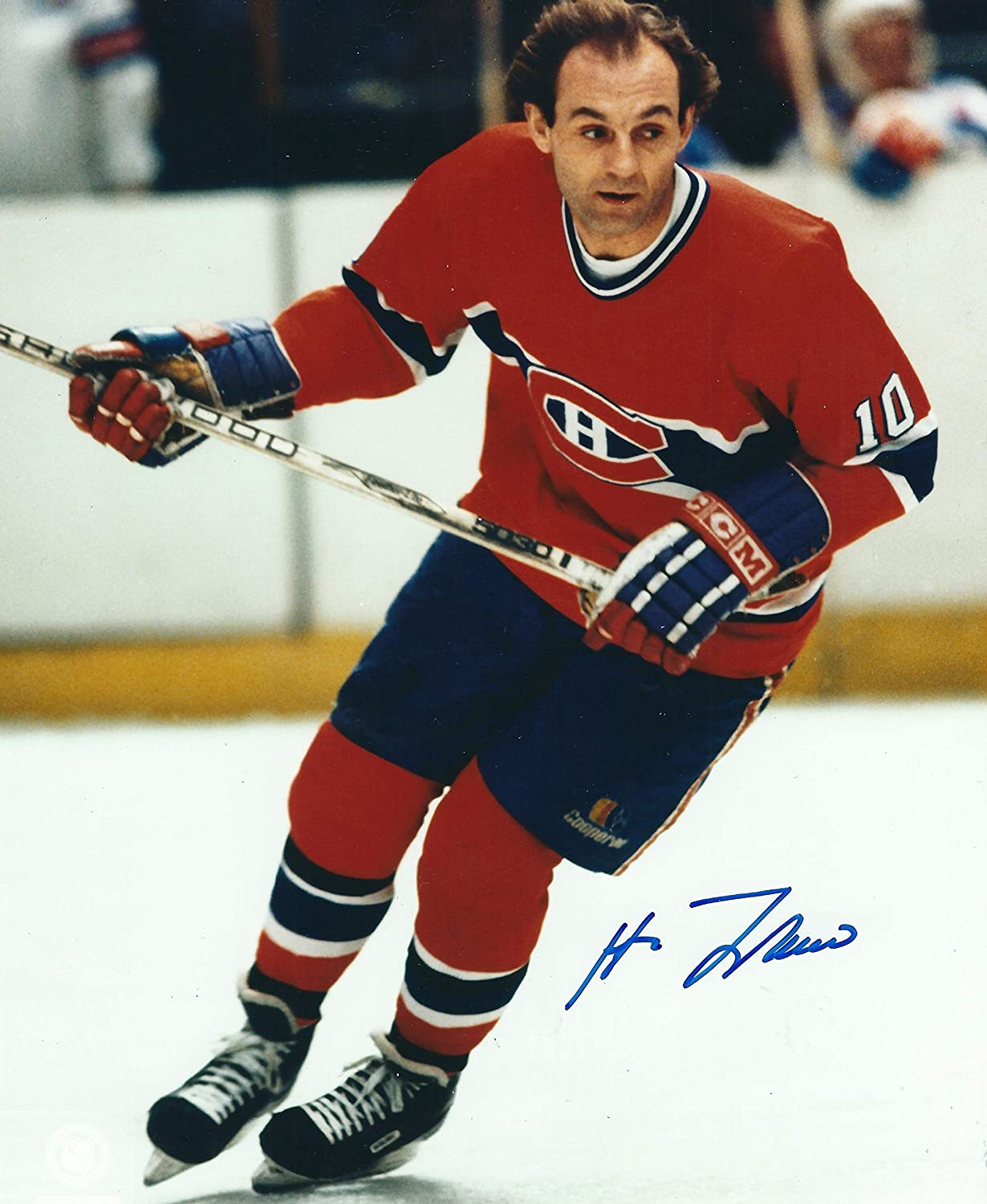 f49b18e40 Autographed Guy Lafleur 8x10 Montreal Canadiens Photo at Amazon s Sports  Collectibles Store