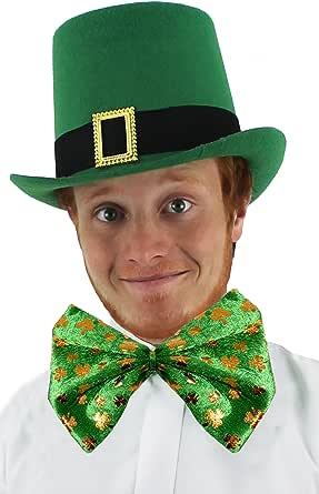 ST PATRICKS DAY irlandés para disfraz de sombrero y pajarita ...