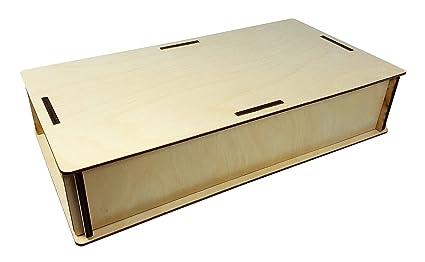 License Plate Resonator Cigar Box Guitar Wooden Box Kit Easy To Assemble