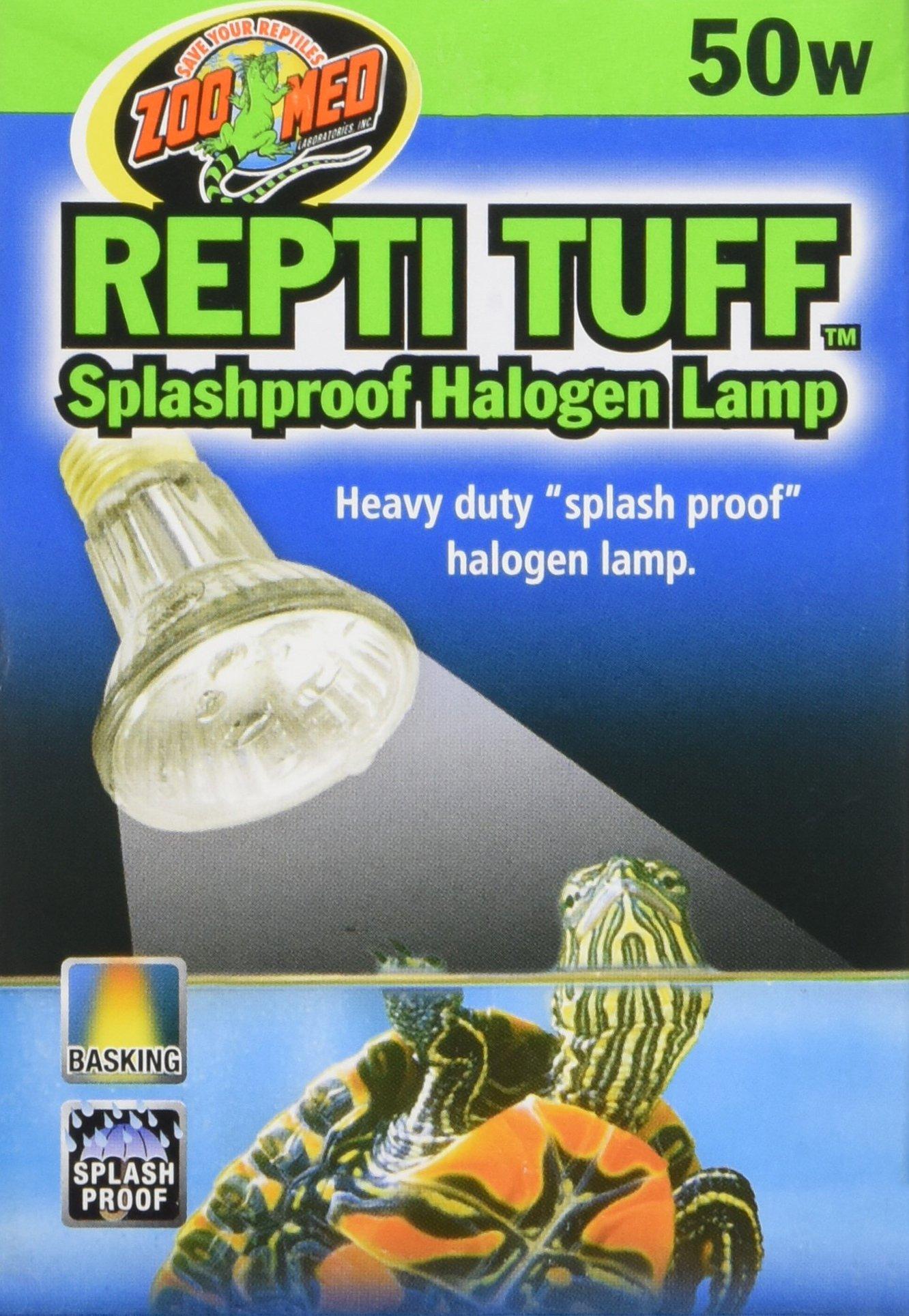 Zoo Med Repti Tuff Splashproof Halogen Lamp 50 Watts by Zoo Med (Image #2)