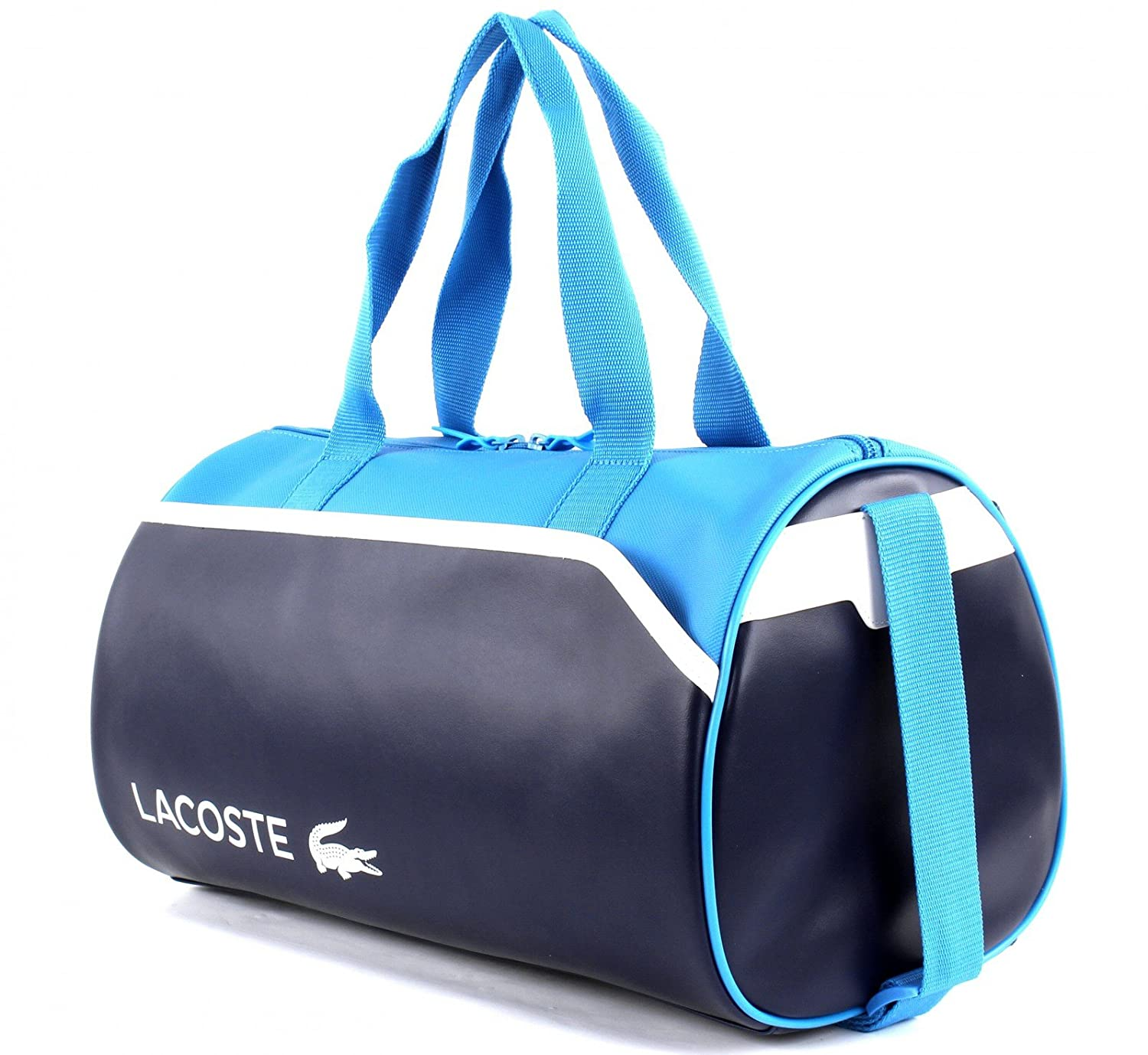 LACOSTE Ultimum Roll Bag Peacoat Blithe White: Amazon.es: Zapatos y complementos