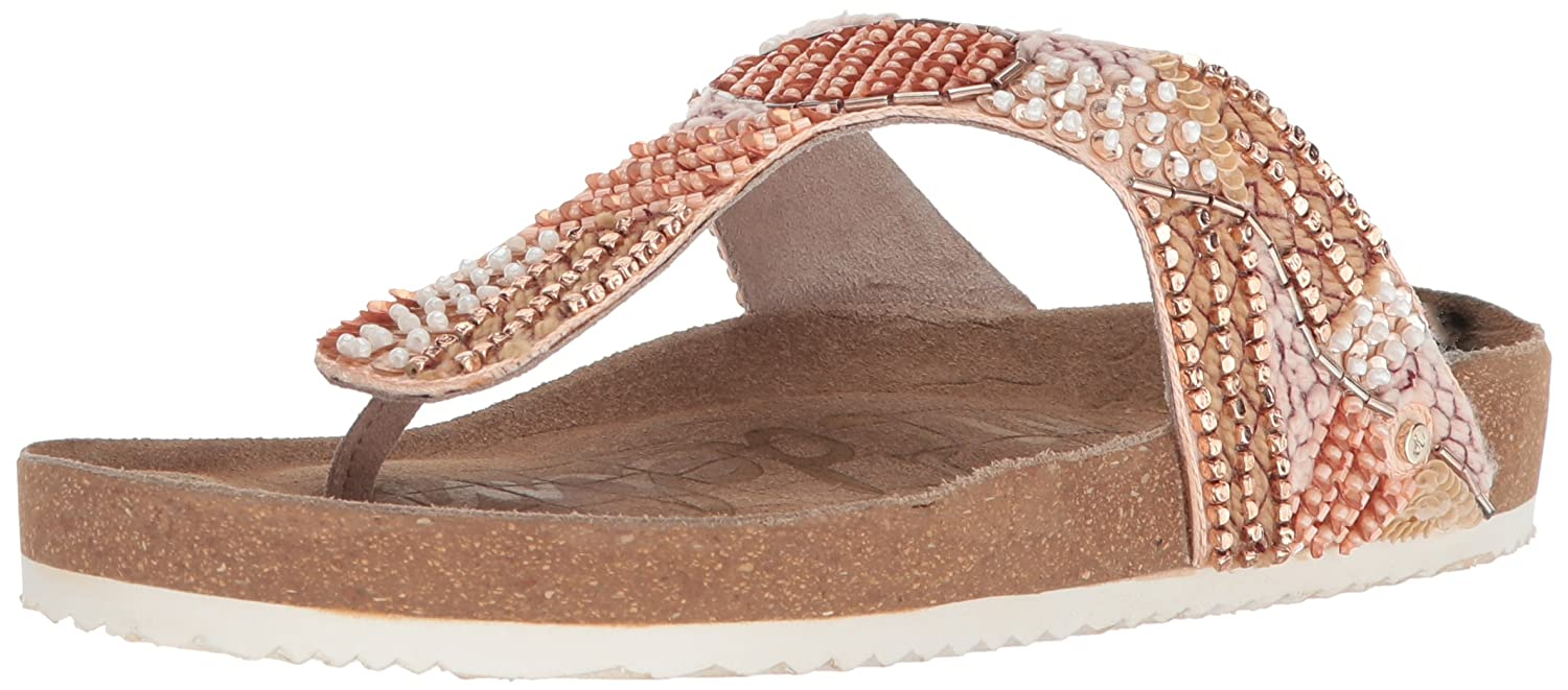 Sam Edelman Women's Olivie 4 Slide Sandal B07747C2QX 11 B(M) US|Blush/Rose Gold/Multi