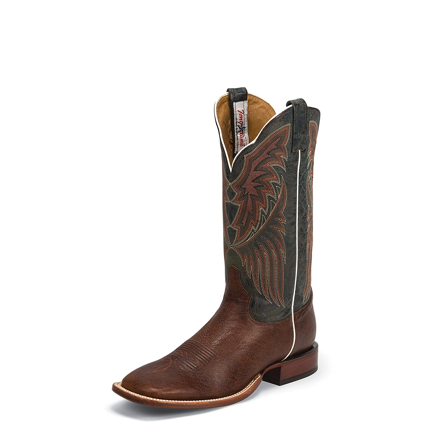 Tony Lama Men's San Saba Bison-B1104 Western Boot