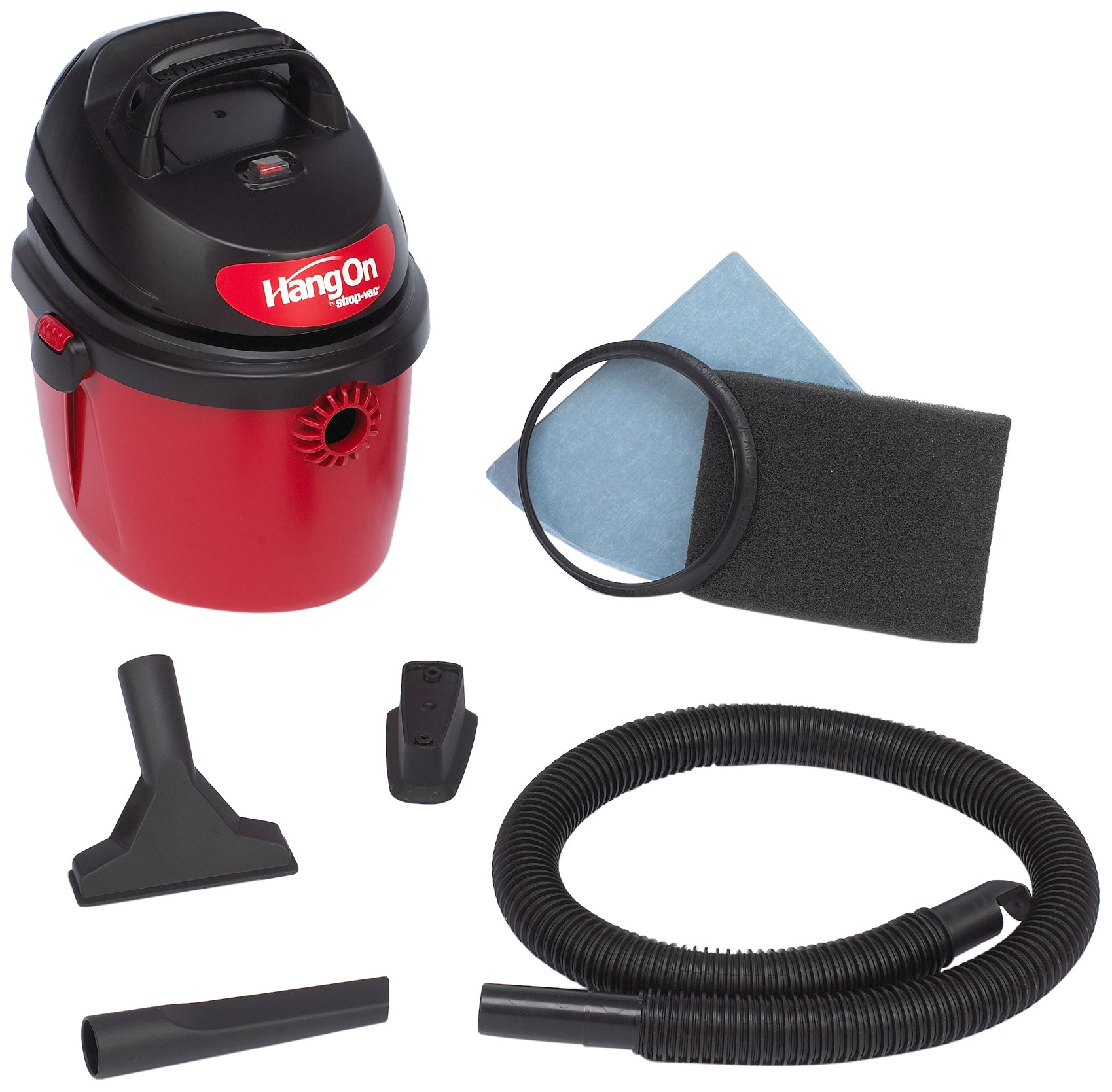 Shop-Vac 5890200 2.5-Gallon 2.5-Peak HP HangOn Wet/Dry Vacuum