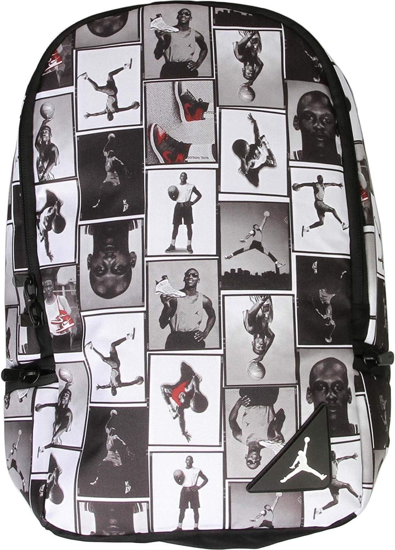 Black//White Air Jordan Photo Reels Backpack