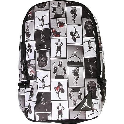 b124fde11c5 Amazon.com: Air Jordan Photo Reels Backpack (Black/White): Computers &  Accessories