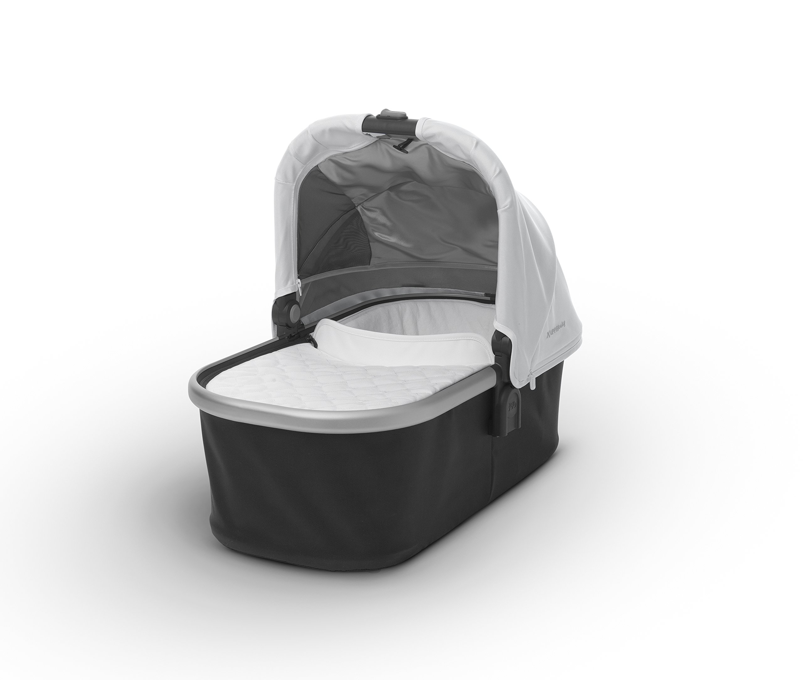 2018 UPPAbaby Bassinet - Loic (White/Silver)