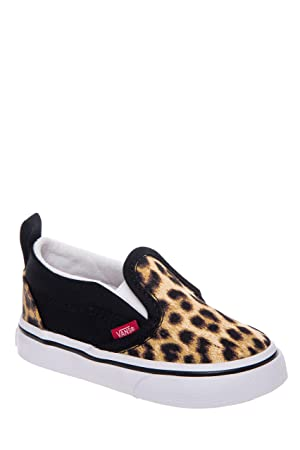 Vans Slip On Leopard Babyschuh Gr. 19 UK: 3,5: : Baby