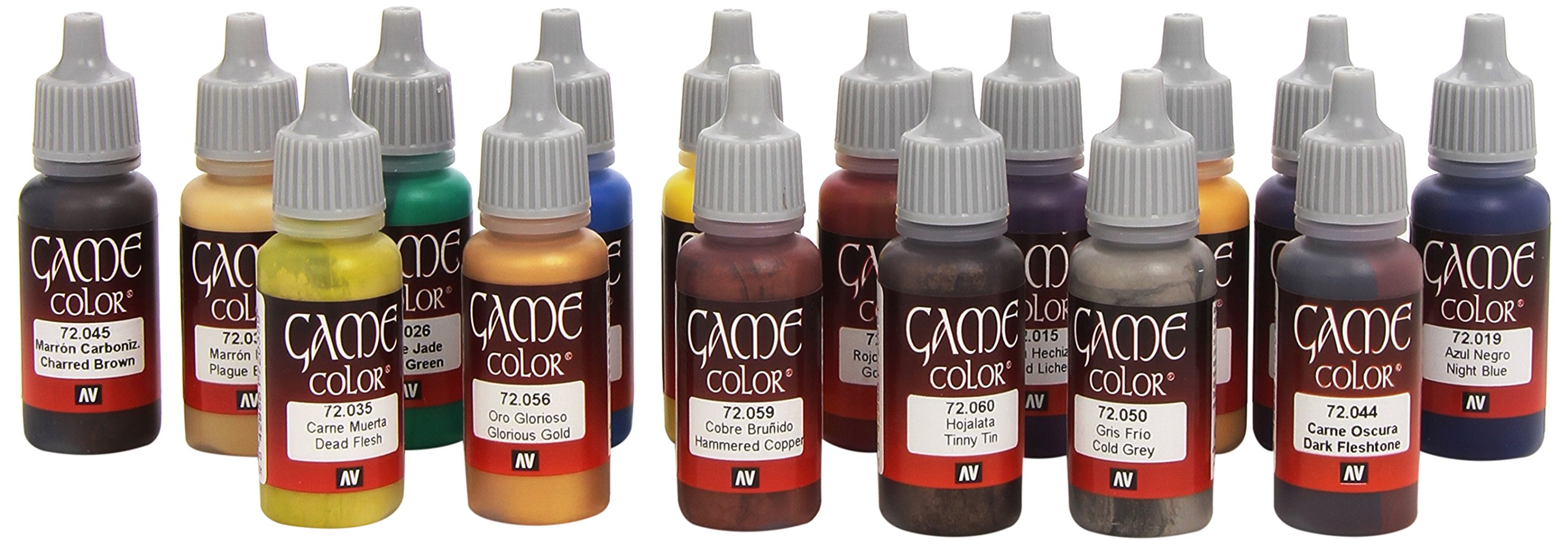 Av Vallejo Game Color Set -advanced Set (x16) by Vallejo Acrylic Paints (Image #2)