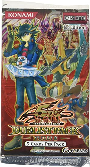 YuGiOh Trading Card Game 5Ds Duelist Pack Yusei Fudo Booster Pack [Toy] [Toy]: Amazon.es: Juguetes y juegos