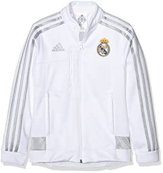 f1cea2fe5e4 Adidas Real Madrid 2015-16 Youth Football Soccer Training Anthem Jacket  AH3449