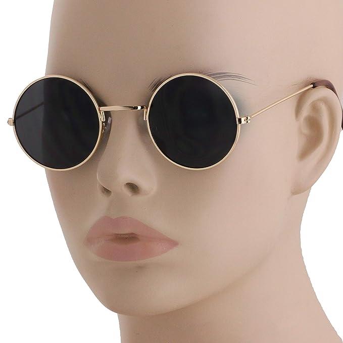 Amazon.com: Gafas de sol estilo John Lennon, diseño retro de ...