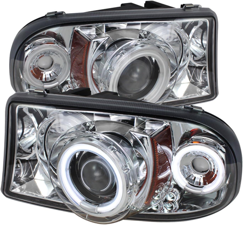 Spyder Auto Dodge Dakota//Durango Chrome Halogen Projector Headlight
