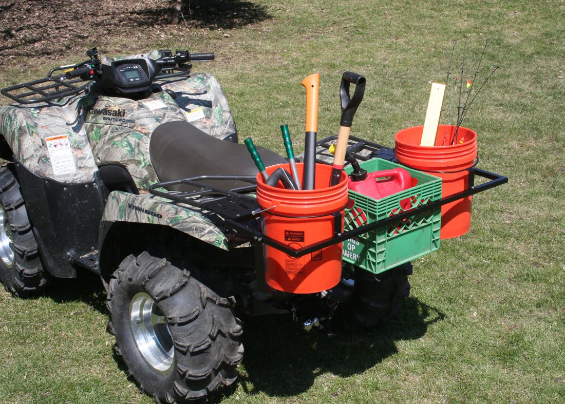 Komodo ATV ATVBCC ATV Bucket and Crate Carrier