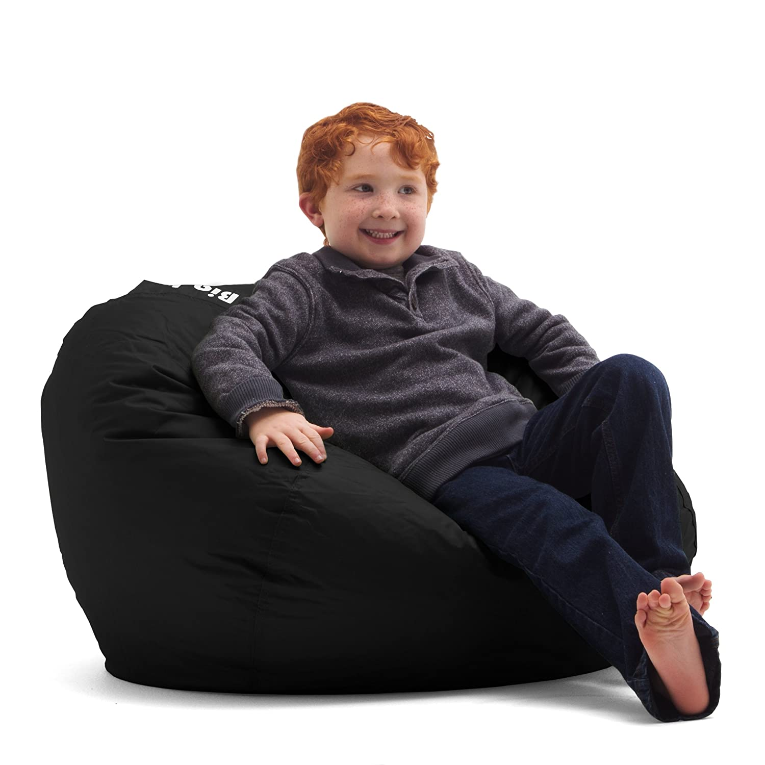 Amazon Big Joe 98 Inch Bean Bag Limo Black Kitchen & Dining