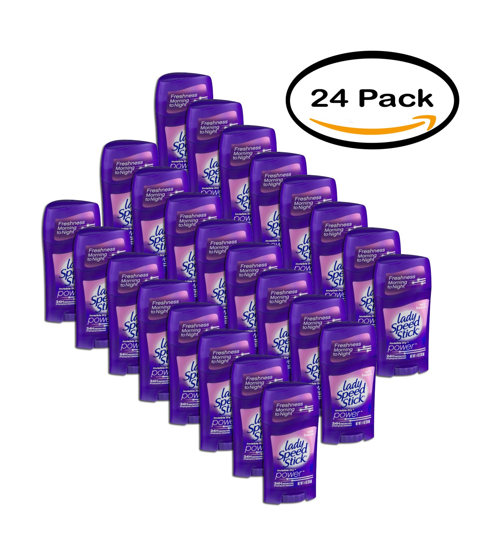 PACK OF 24 - LADY Speed Stick A/P inv.dry WILD FREESIA -1.4oz/12CT