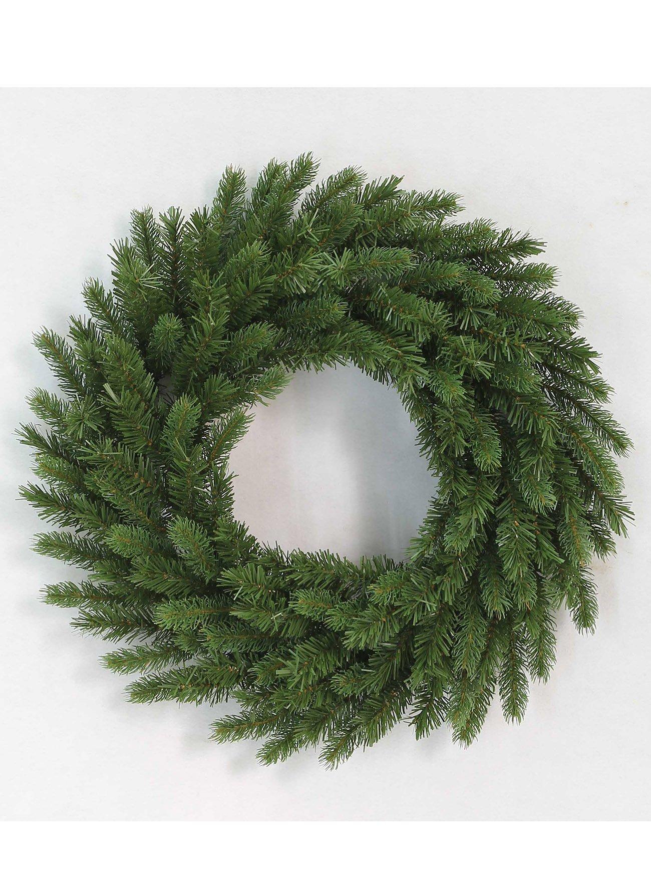 KING OF CHRISTMAS 36″ King Fraser Fir Wreath With 150 LED Lights