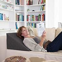 La Almohada Tipo Cuña Fantástica - para Su Sala De Estar o Su Recamara, Almohada para Leer con…