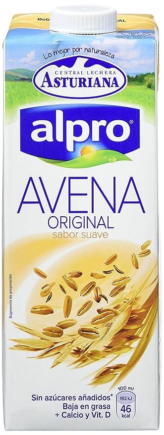 Central Lechera Asturiana Bebida de Avena - Paquete de 6 x 1000 ml - Total 6000