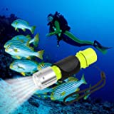 Oumers 1100 Lumen CREE XM-L2 Professional Diving Flashlight, Super Bright LED Diving Light Waterproof Underwater Torch…