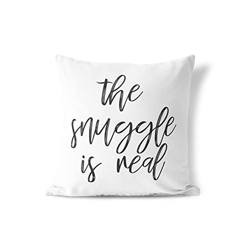 The snuggle is real pillow