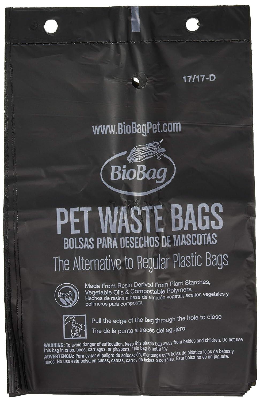 50 per Box 12 Boxes per Case Bio Bag BIB-187105P12 Dog Waste Compost Bio Bags FULL CASE