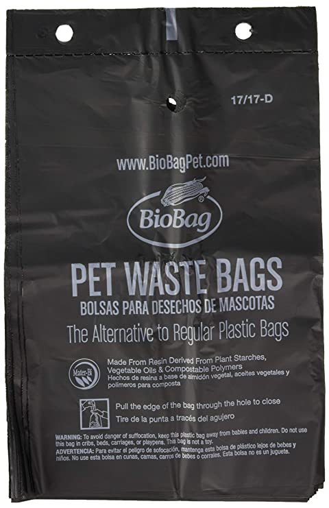 Amazon.com: Biobag, Pet bolsas de residuos, 50 Count: Mascotas