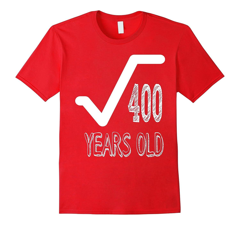 20 Years Old 20th Birthday Men Gift Dude Novelty T-Shirt-FL