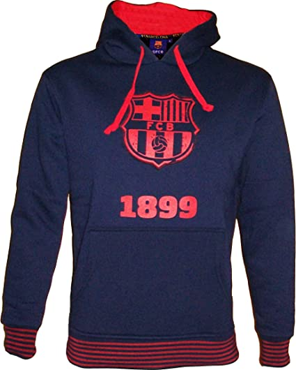 Collection Officielle Taille Adulte Homme Fc Barcelone Sweat Capuche Bar/ça