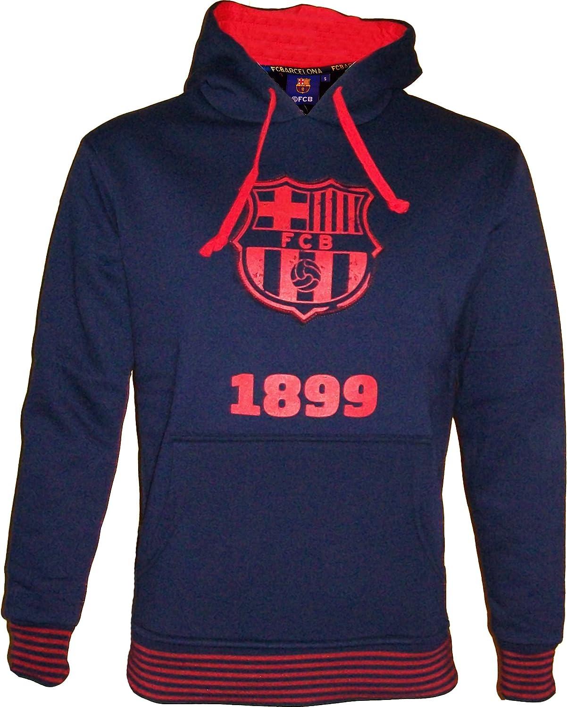 14 anni Barcelona Felpa con cappuccio 10 Bar/ça prodotto con licenza ufficiale 100/% poliestere FC