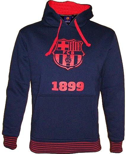 F.C. Barcelona - Sudadera con capucha del Barça (colección oficial del F.C. Barcelona, talla