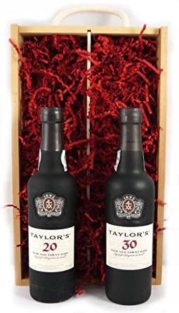 Taylors 50 Years Of Port 375cl Presented In A Double Wooden BoxLuxury Retirement